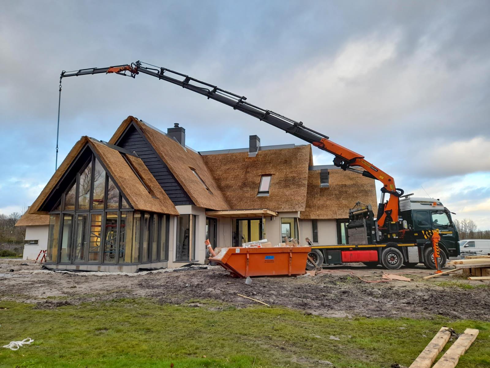 Autolaadkraan Hijswerkzaamheden Nederland JIB