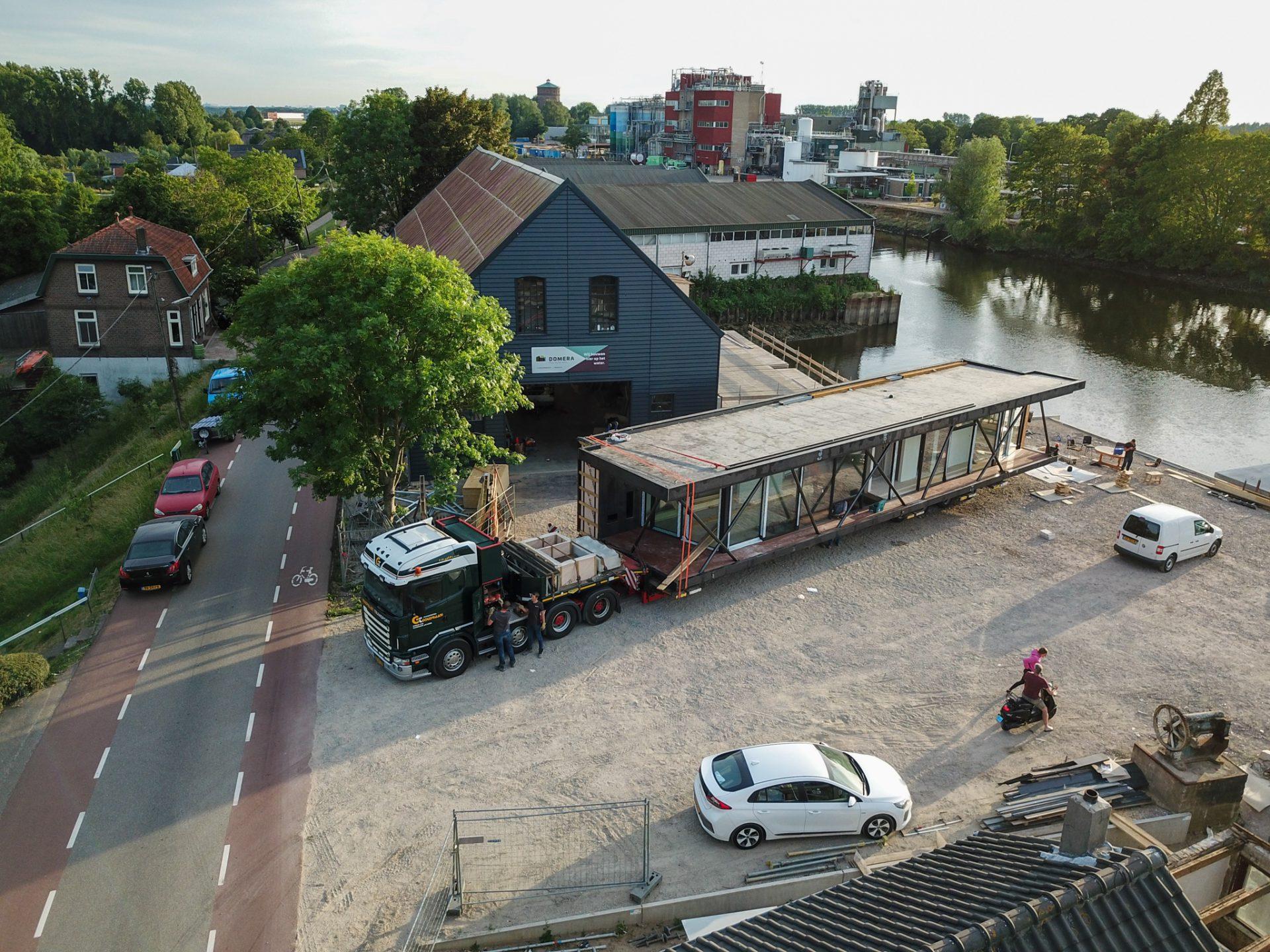 Exceptioneel transport Woonark vervoeren Nederland