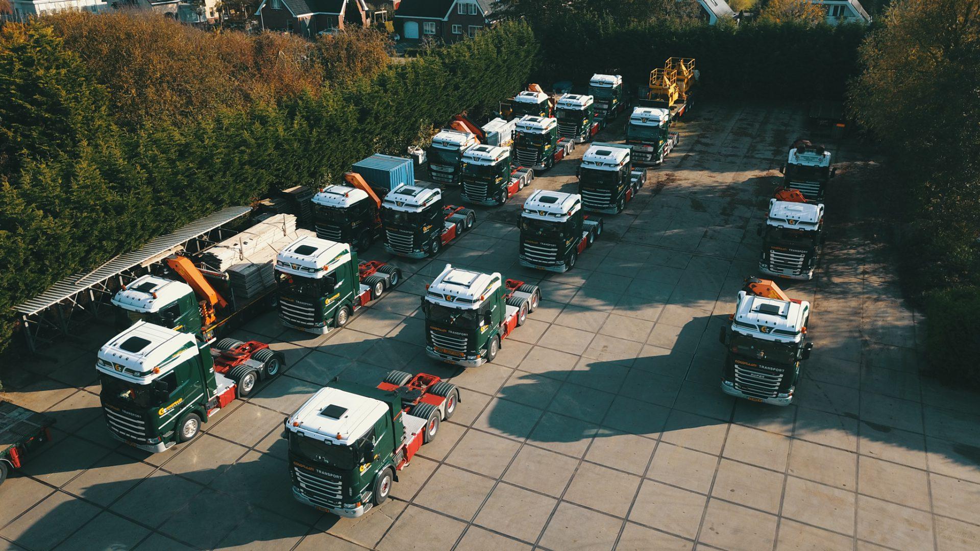 Wagenpark Goudriaan Transport