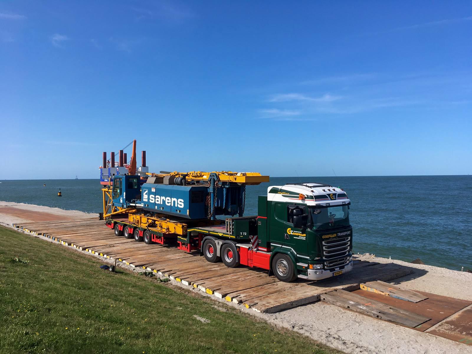 Zwaar transport Kraanbody Nederland